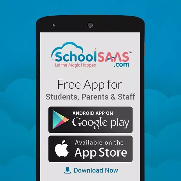 SchoolSAAS - Android App and IOS App